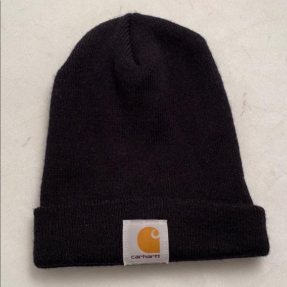 Carhartt black beanie hat OS